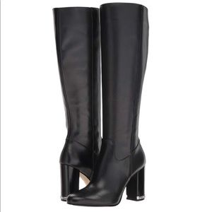 Michael Kors Walker Leather Boot.